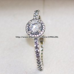 Wholesale European Fashion Style Ring - Fashion Jewelry Ring 925 Sterling Silver European Pandora Style Charm Jewelry Classic Elegance Ring with Clear Cz