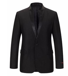 Wholesale Notch Collar Slim Fit Suits - Brand Men Suits Chinese Mandarin Collar Male Suit Slim Fit Blazer Wedding Terno Tuxedo 2 Piece (Jacket and Pant)