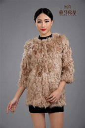 Wholesale Outerwear Greatcoats - Wholesale-Coffee brown women genuine lambs fur coat, quality lamb hair outerwear, winter warm plus size jacket greatcoat customed