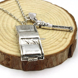 Wholesale Supernatural Dean Winchester - Wholesale-Free shipping wholesale a lot Supernatural Dean Winchester car with license plate necklace