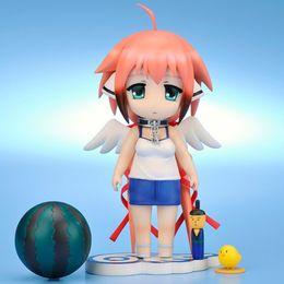 Wholesale Ikaros Figure - Free Shipping Sora No Otoshimono Ikaros Action Figure Cute Ver. Icarus Doll PVC ACGN figure Garage Kit Toy Brinquedos Anime 10CM