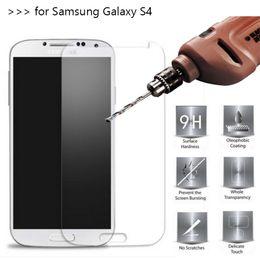 Deutschland 2 STÜCKE Gehärtetem Glas Displayschutzfolien Für Samsung Galaxy S6 / S6 Edge S5 / S5 mini S4 / S4mini 2.5D Explosion Splitterschutzfolie Versorgung
