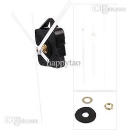 Wholesale Clocks Hand Parts - Quartz Clock Movement Mechanism White Hands DIY Repair Parts Kit