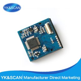 Wholesale Embedded Module - Wholesale- small TTL232 5V 3.3V scan engine with Interface board 1D CCD Image Barcode scanner embedded module engine Free shipping