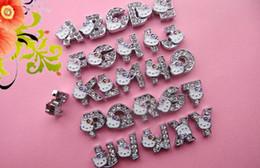 Wholesale Diameter Tape - [8mmKT cat alphabet (internal diameter 8mm, 8mm tape can pass through)] DIY wholesale diamond letters