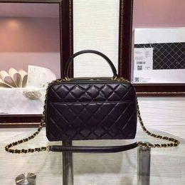 Wholesale Briefcases Lock - Women Bags Shoulder handbag briefcases ORIGINAL LEATHER Luxury brands Genuine Leather Lambskin Fashion Top quality 27*18*10cm