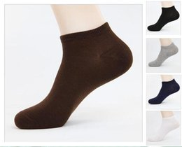 Wholesale Socks Factory Price - Wholesale factory price cheap socks for men Business ship socks 5 colors Candy color Free shipping LA28-1