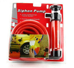 Wholesale Manual Portable Oil Pump - Car manual diesel oil extractor in oil pump oil suction, suction tubing gasoline tank Portable manual pumping