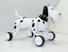 Wholesale Realistic Dog Toy - 50-HappyCow 777-338 2.4G RC Smart Dog Realistic Smart Dog Programmable Radio Remote Control Educational Intelligent Dog Robot Toys for Kids