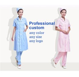 Wholesale Winter Nursing Clothes - Hot selling nurse clothes Brand Antistatic beauty salon work clothes Spring and winter Ladies breathable overalls