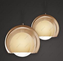 Wholesale Glass Globe Bulb Pendant - Glass Globe Pendant lights LED bulbs Led Lights E27 chandelier Penant lamps Flos