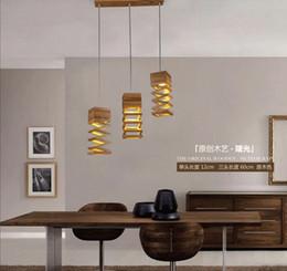 nuevo diseo moderno lmpara colgante de madera para comedor saln hogar de la lmpara de iluminacin