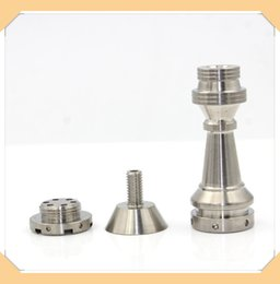 designer nails tips Promo Codes - stamping nail designer nail tips Domeless Titanium Nail Ti Nail 14mm 18mm Male Female joint titanium