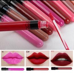 Wholesale Elegant Lipsticks - Wholesale-2015 Hot Women Ladies Waterproof Elegant Color Lipstick Matte Smooth Lip Stick Lipgloss Long Lasting Sweet Girl Lip Makeup