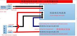 датчики постоянного тока Скидка Опт-Лаборатория. Красный синий светодиодный дисплей DC 0-100 в 10A двойной цифровой вольтметр амперметр DIY Checker тестер панели Amp вольтметр инструмент горячей продажи