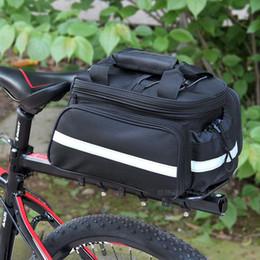Wholesale Handbags For Cameras - Waterproof Cycling Bag Bicycle Bike Rear Seat Trunk Bag Handbag Pannier Front Messenger for Camera Holder black extendable bag