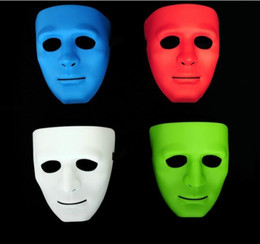 Wholesale Dance Costume Child Hip Hop - New Halloween Fashion Mask Thin Mask Hip-Hop Party Mask Dance Mask Costume Party Children Mask E128