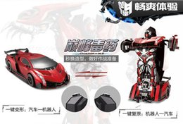 Wholesale imperial metals - One hundred million imperial deformation robot remote control car electric sports car were children of King Kong toy car boy toy model