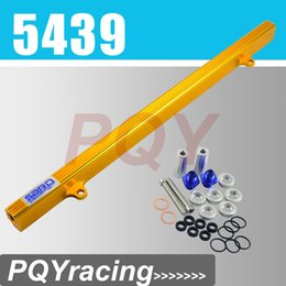 Wholesale Nissan R33 - J2 STORE- GOLD SARD STYLE FUEL RIAL KIT FOR NISSAN R32 R33 R34 RB25DET RB25 SKYLINE GTR HIGH FLOW INJECTION FUEL RAIL PQY5439G