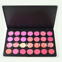 Wholesale Makeup Blusher Products - New Fashion Beauty Product Natural 28 Color Makeup Blush Facial Care Blusher Powder Palette Cosmetic Set Free Shipping