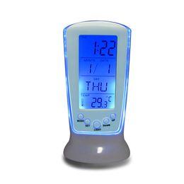Wholesale Digital Snooze Alarm Clock Bedside - Digital Luminous LED Multifunction Alarm Clock (Snooze calendar thermometer),Children Bedside Desk Clock