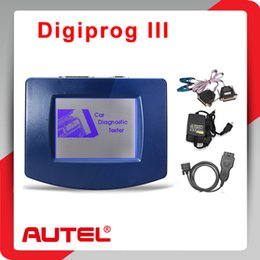 Wholesale Digiprog Cable - Wholesale-2015 Newest V4.94 Digiprog III Odometer Programmer With OBD2 ST01 ST04 Cable Digiprog3 Mileage Change Tool DHL Free shipping