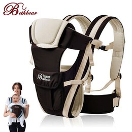Wholesale Backpack Carry Baby - 0-24 Months Breathable Multifunctional Front Facing Baby Carrier Infant Comfortable Sling Backpack Pouch Wrap Baby Kangaroo
