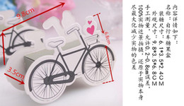 Wholesale New European Favor Box - 50pcs lot European Creative Cartoon Bicycle Candy Box Wedding Faours Chocolate Box Event & Birthday Party Supplies Gift Box Free Shipping