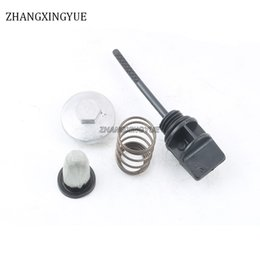 Wholesale Oil Cooler Cover - Chinese Scooter moped atv oil dipstick with o-ring + oil cover + spring + oil filter for GY6 50cc 125cc 150cc 139QMB 157QMJ