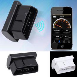 programador chave automático Desconto Sem fio Bluetooth 2.0 Carro Auto Portátil Mini Diagnóstico Scanner OBD Branco Brand New