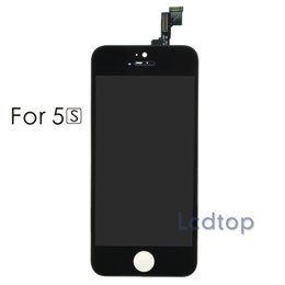 Wholesale Display Iphone 5c - For iPhone 5 5S 5C LCD AAAA Quality No Dead Pixels Touch Display Digitizer Screen with Frame with Small Parts Assembly Repalcement Parts