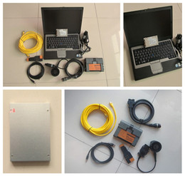 Wholesale French Programs - For bmw icom a2 with d630 laptop + software SSD V2015.04 engineer mode diagnostic and program tool one year warranty