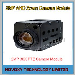Wholesale Dome Security Camera Digital Zoom - Free shipping 2MP AHD 30x Optical Auto Focus Digital CCTV Security PTZ Speed Dome Camera Zoom Module 3.3~99mm Lens