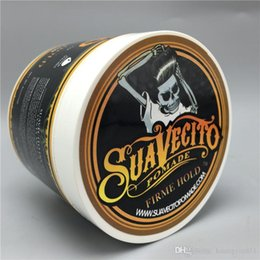 Wholesale Wax Hair - HOT Sale Suavecito Pomade Strong style Restoring Ancient Ways Hair Slicked Back Hair Oil Wax Mud Best Hair Wax Very Strong Hold
