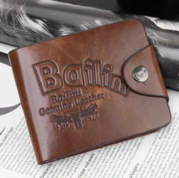2017 portefeuille de cartes de poche PU Leather Wallet Spring Haute qualité Brand New Mens Portefeuilles en cuir Porte-cartes Embrayage Center Bifold Purse for Men / Women portefeuille de cartes de poche pas cher