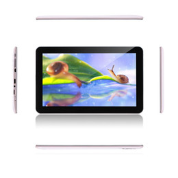 Wholesale Irulu Dual Core - IRULU 10 inch Quad Core Android 4.4 Tablet PC 1.3GHZ MTK8127 1024*600 Dual Camera Tablets 1GB 16GB GPS Bluetooth Wifi