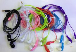 Wholesale Cheap New Apple Ipad - Promation cheap price New Earphone With Mic Headphone For Iphone6 5S 5   Ipad 4 Mini   Ipod For samsung Mobile Phone Headset (Without Mic)