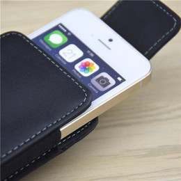 Wholesale Inch Holster - 4.5-5.1 inch For iphone 6 360 Degree Rotation Holster Belt Clip Leather Vertical Case Cover For Samsung S4 S5 S6 Business Men ]<