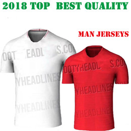 Wholesale England World Cup Jerseys - Top Thai quality 2018 World Cup soccer Jersey england ROONEY home KANE STURRIDGE STERLING HENDERSON VARDY 2018 red football shirts customize