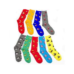 Wholesale Superhero For Woman - Wholesale- Fashion Cotton Jacquard Socks Superhero Pattern Cartoon Men Funny Candy Colored Socks For Women