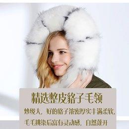 Wholesale Nick Winter - Women's Parka fur coat hooded with Real fox hair winter rabbit hair liner nick clothing fur overcoat