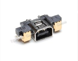 Wholesale Charger Nintendo - Wholesale-50pcs lot Original and new Replacement for Nintendo 3DS charger connector Power Jack Charging Port Socket Dock