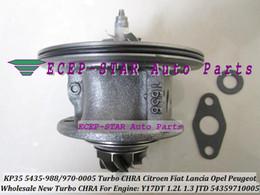 Wholesale Opel Turbocharger - Turbo CHRA cartridge KP35 54359700005 54359880005 54359710005 73501343 For FIAT Dobl Panda Punto OPEL Corsa 1.3L Multijet JTD Y17DT 1.2L