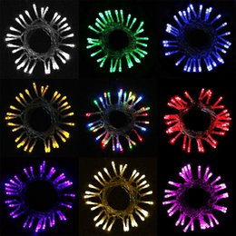 Wholesale String Lightings - top sale best price Christmas lightings Warm white decoration wedding light holiday string lights 3*AA Battery power operated LED strings