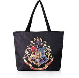 Wholesale messenger bag school shoulder - Harry Potter Hogwarts School Badge Canvas Handbag Messenger Shoulder Bag Tote Beach Bag Casual Bags KKA3209