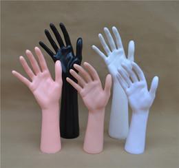Wholesale Plastic Woman Mannequin - New Plastic Female Hand Mannequin Women PVC Hand Model On Sale