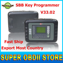 Wholesale Car Key Immobilizer Programmer - Wholesale-2016 Latest V33.02 SBB New Immobilizer Transponder Auto Car Silca Sbb Key Programmer Multi-languages Useful Key Pro Tool