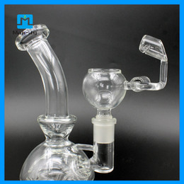 electronic filters Promo Codes - Hot electronic nail glass pipe Recycler Filter functions DIY New Hookah glass pipes for smoking bong e nail dab glass water pipe