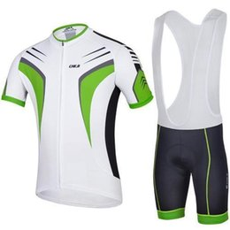 Wholesale Kinds Tops For Men - 2015 cheji cycling for men new kind of short sleeve jersey cycling top and cycling bib shorts
