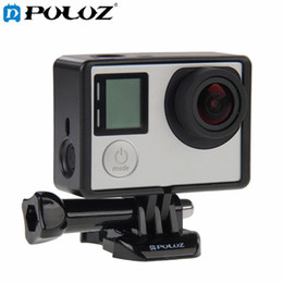 Wholesale Borders Frames - Sports camera Accessories Standard Border Frame Mount Protective Housing with Screw base mount for Action Camera HERO4 HERO3+ Hero 4 3+ 3